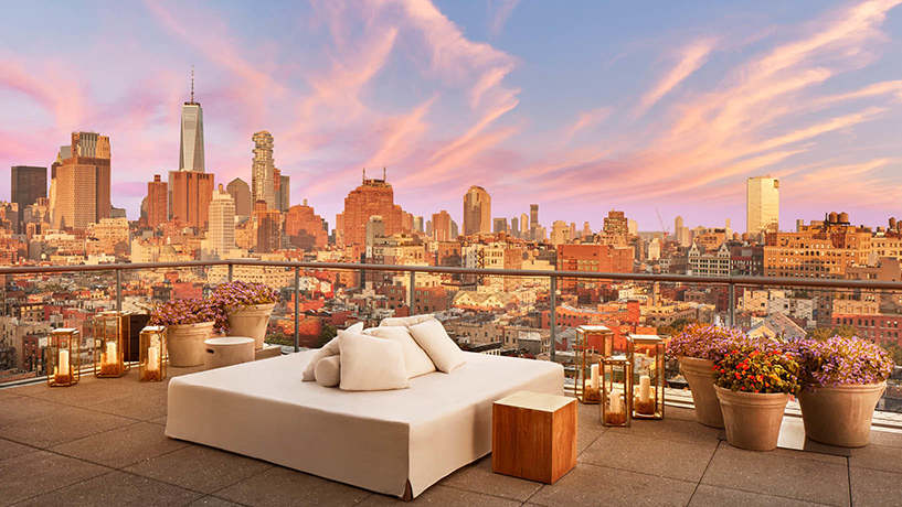 Roof Deck Reveries 